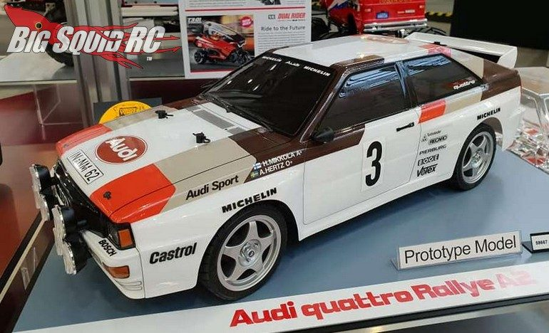 Tamiya Audi Quattro Rally A2 Kit