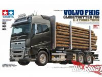 Tamiya Volvo FH16 Globetrotter 750 6×4 Timber