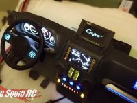 Capo Racing RC Scale Dash LED Screen