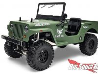 Gmade RC Military Sawback Scale Rock Crawler