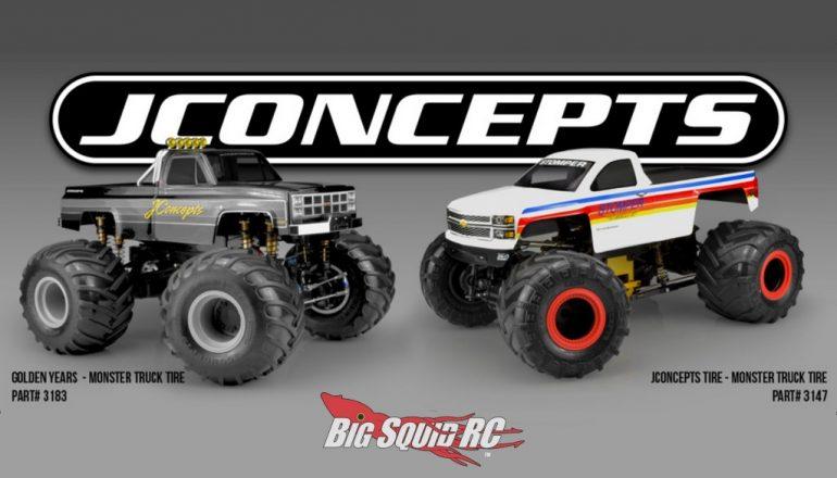 JConcepts Monster Truck Tires