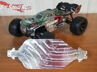 Just Bash It RC ARRMA Aluminum Upgrade Chassis