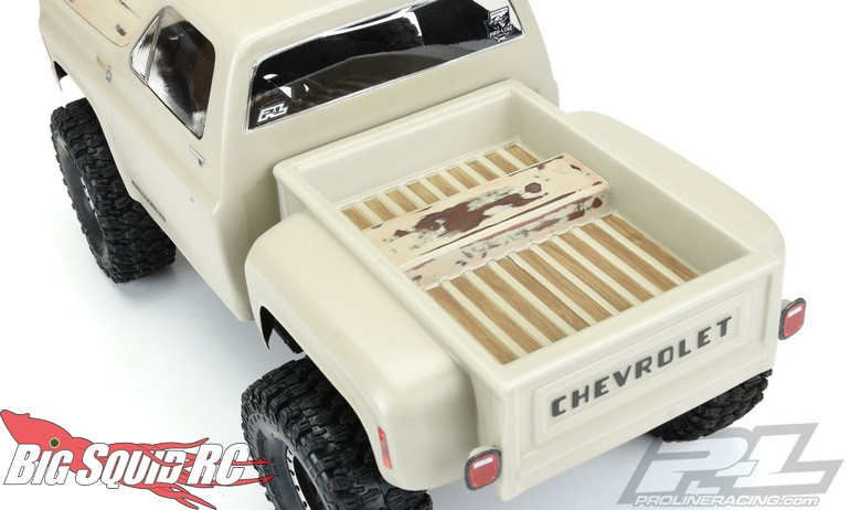 Pro-Line 1978 Chevy K-10 Clear Body « Big Squid RC – RC ...