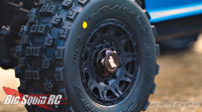 Pro-Line Badlands MX SC Tire Video