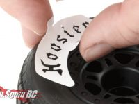 Pro-Line Hoosier Tire Refresh Stencil