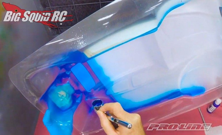 Pro-Line How to Paint RC Car Body Video