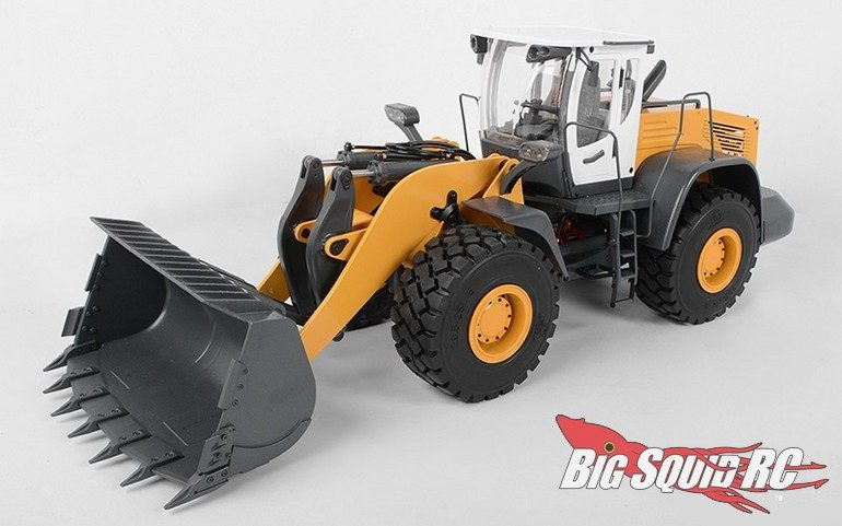RC4WD 14th Earth Mover 870K Hydraulic Wheel Loader White Cab