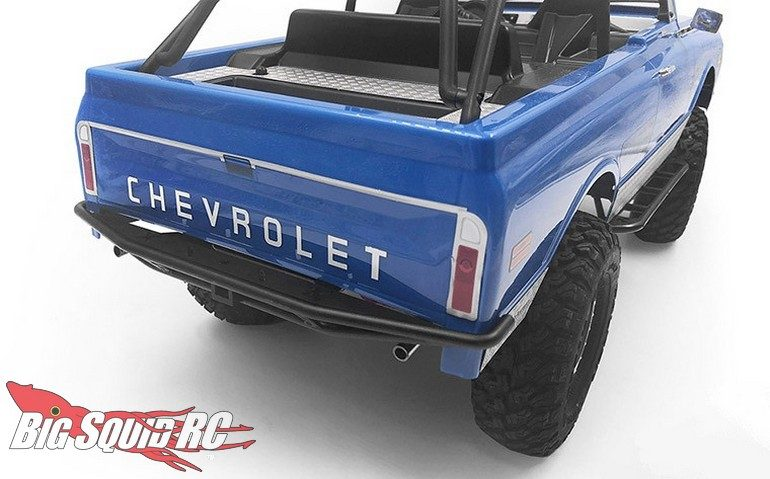 RC4WD Rough Stuff Rear Bumper Exhaust Tips SCX10 II Chevy Blazer