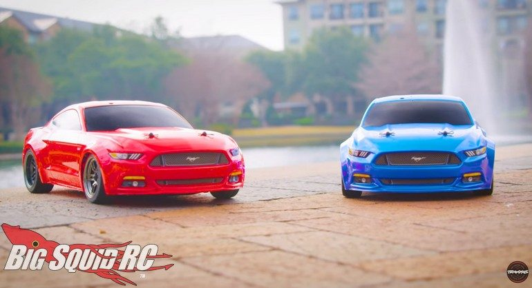 Traxxas Ford Mustang Gt Muscle Car Mashup
