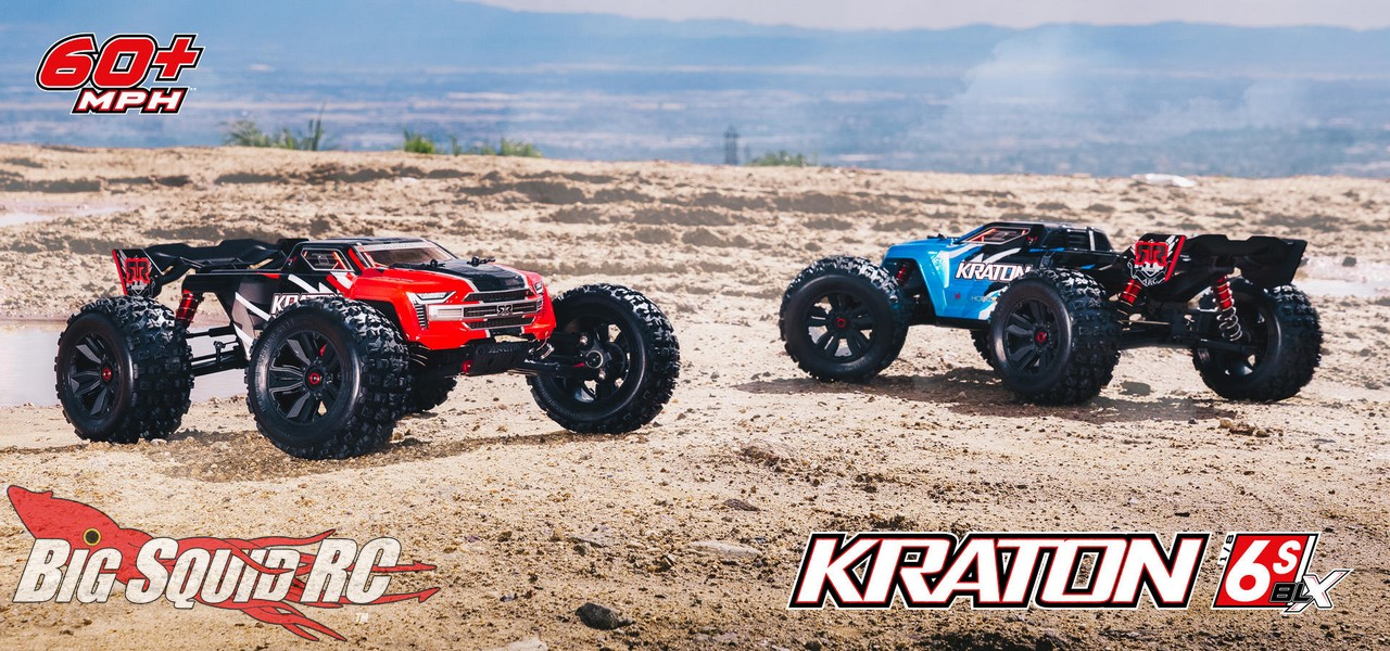 Arrma Updates The Kraton 6s Blx 171 Big Squid Rc Rc Car