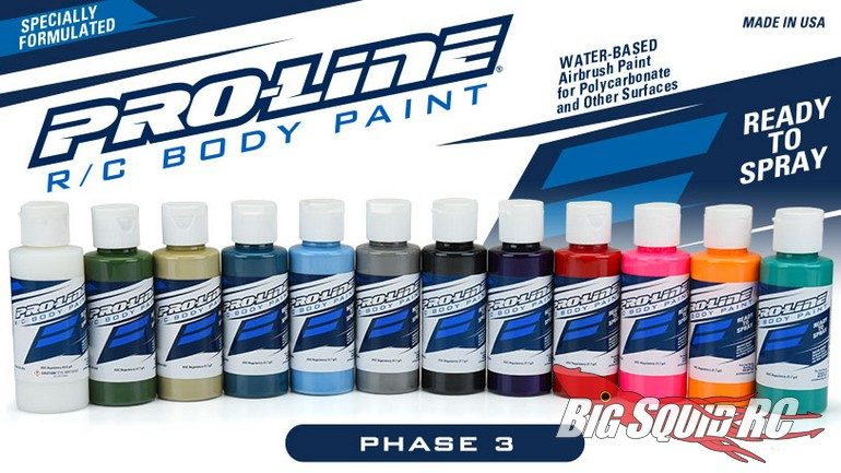 PRO-LINE RC BODY PAINT PHASE 3