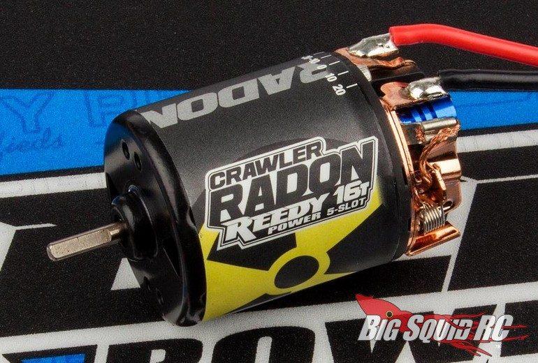 Reedy Radon 2 Brushed 5-Slot Crawler Motors