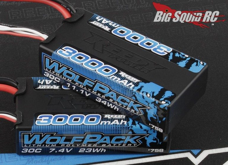 Reedy Wolfpack Shorty LiPo Batteries T-plug