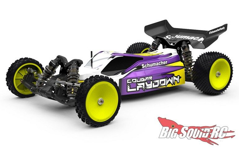 schumacher cougar laydown 1 10 buggy kit big squid rc. Black Bedroom Furniture Sets. Home Design Ideas