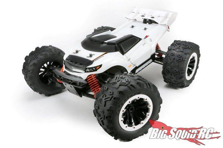 Team Magic E6 Monster Truck White