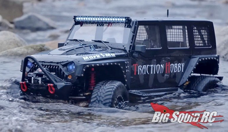 Traction Hobby Found II Scale Rock Crawler RC
