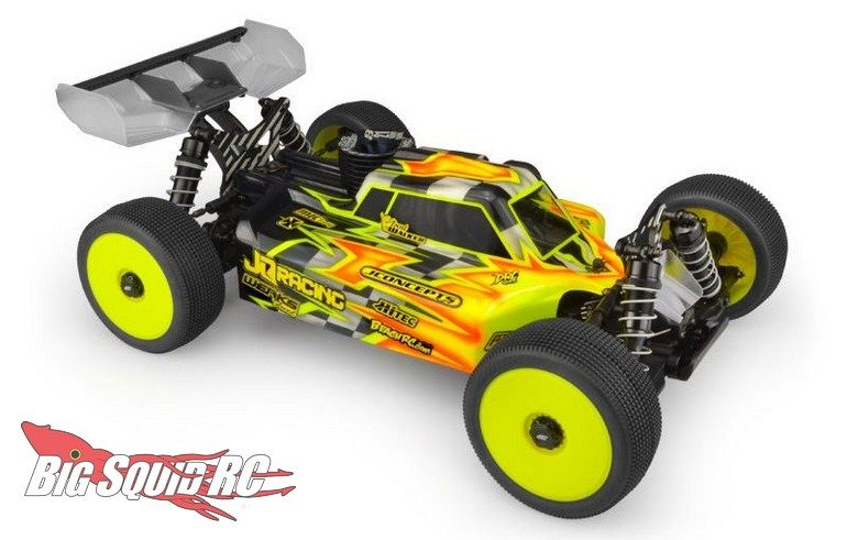 JConcepts S1 JQ TheCar Black Edition TheE-Car Grey Edition Body