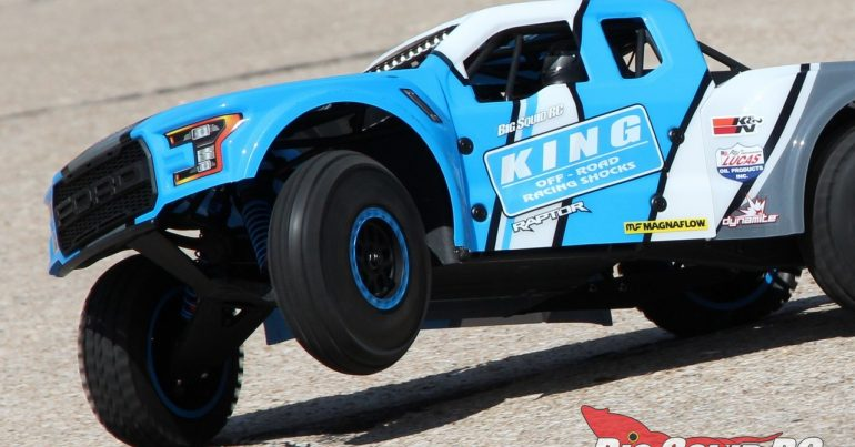 Losi King Shocks Ford Raptor Baja Rey Review