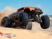 Orange Traxxas X-Maxx Video