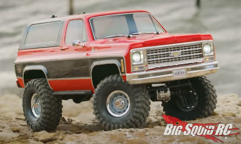 Video – Shoreline Adventure With The Traxxas TRX-4 Chevrolet K5