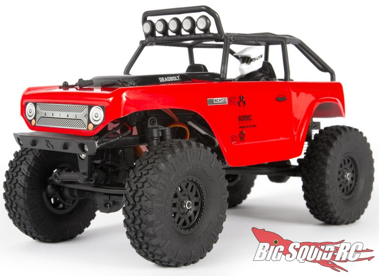Axial 1/24 SCX24 Deadbolt 4WD RTR Axial-Racing-SCX24-Deadbolt-RTR-1