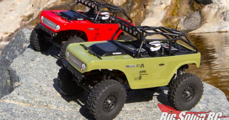 Axial Racing SCX24 Deadbolt RTR