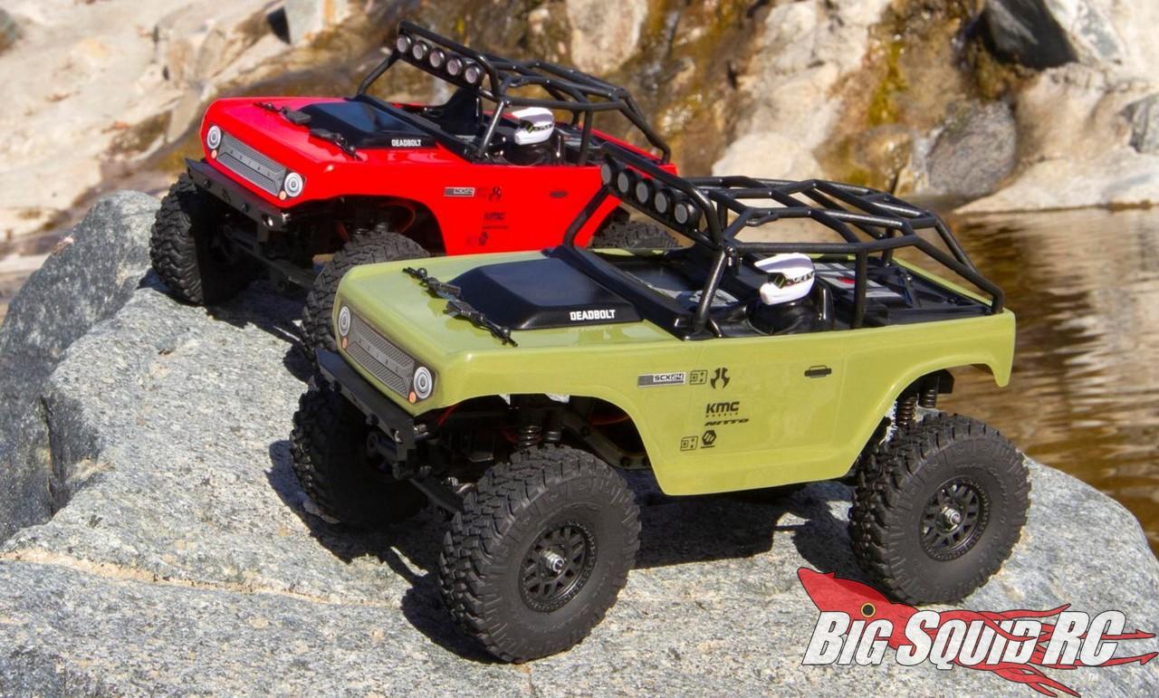 Axial 1/24 SCX24 Deadbolt 4WD RTR Axial-Racing-SCX24-Deadbolt-RTR-5
