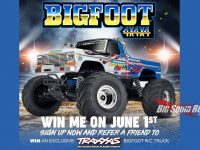 Special Edition Bigfoot 4x4x4 R/C Monster Truck Traxxas Giveaway