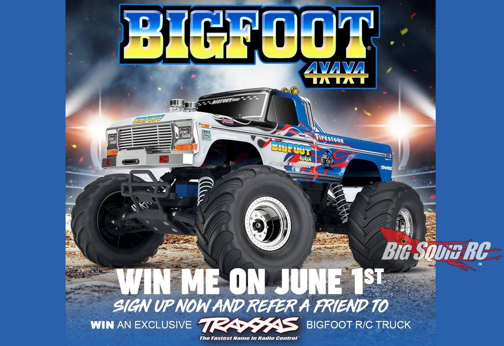 Special Edition Bigfoot 4x4x4 R C Monster Truck Giveaway Big Squid Rc Rc Car And Truck News Reviews Videos And More