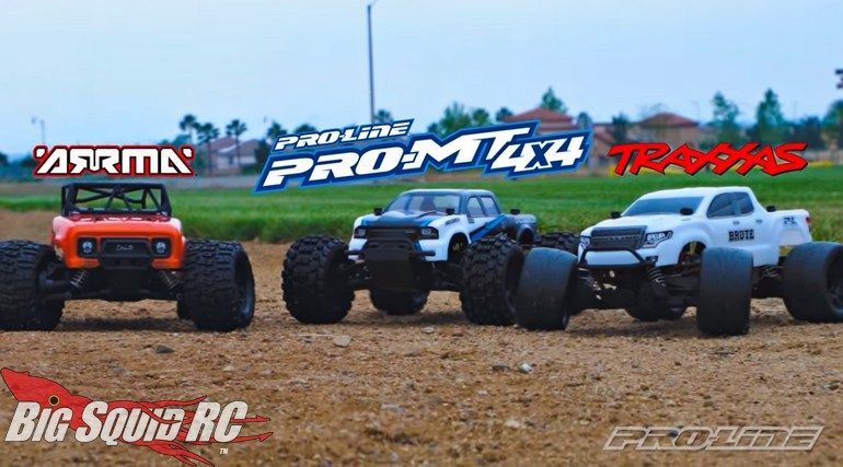 Pro-Line 10th Scale Monster Truck Tires Wheels ARRMA Traxxas