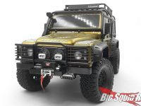 RC4WD Camel Bumper Winch Mount IPF Lights Traxxas TRX-4 Land Rover Defender