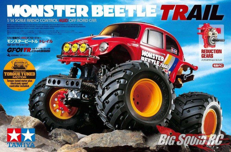 Tamiya 1/14 Monster Beetle Trail Edition