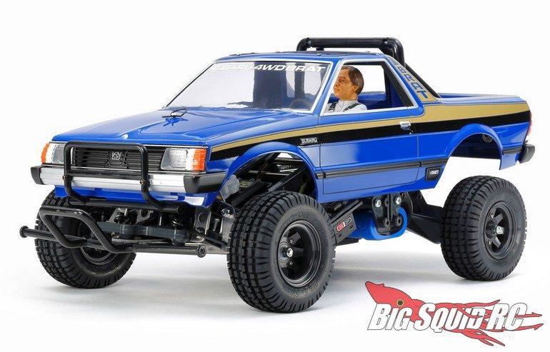 Blue Tamiya Subaru Brat