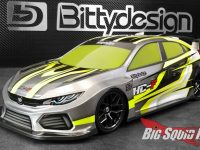 Bittydesign RC HC-F FWD Clear Body