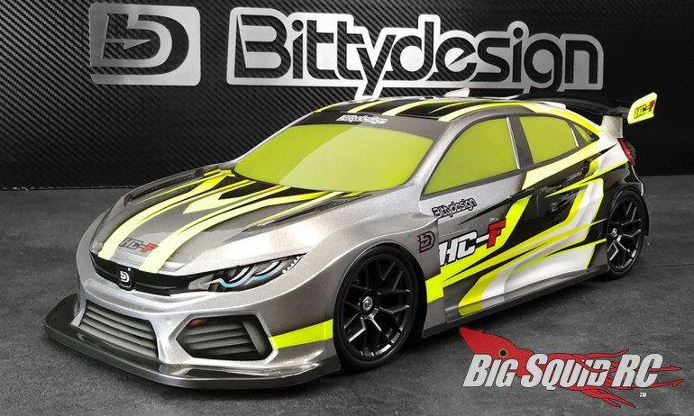 Bittydesign RC HC-F FWD Clear Body