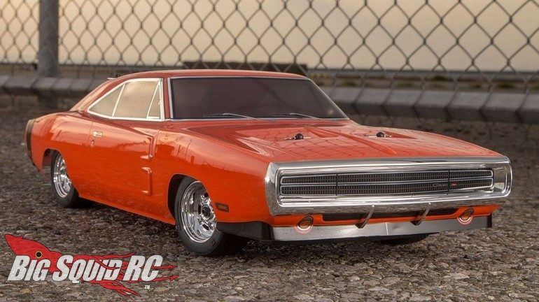 Kyosho FAZER Mk2 Dodge Charger 1970 Hemi Orange
