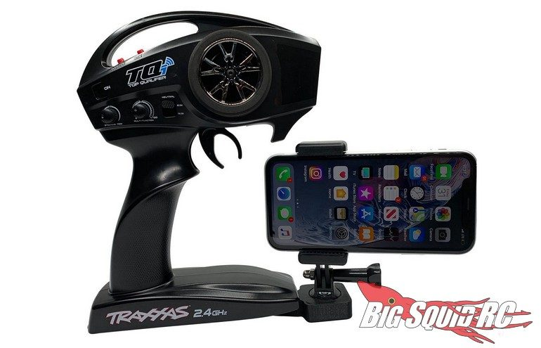 Luxury RC Cell Phone Camera Mount Traxxas TQ TQi