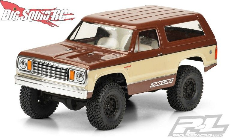 Pro-Line 1977 Dodge Ramcharger Clear Body