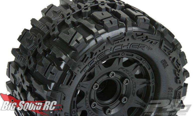 Pro-Line Belted Trencher HP 2.8 Pre-Mounted Monster Truck Tires