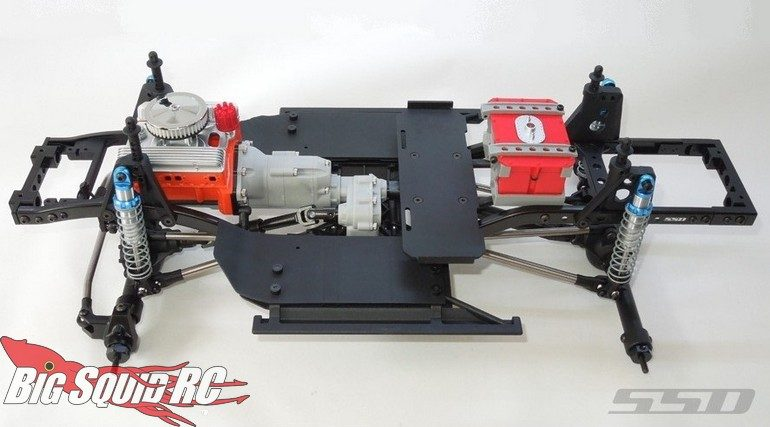 SSD RC Trail King Pro Scale Chassis Builders Kit