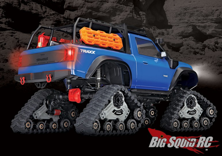 New Traxxas Trx 4 Equipped With Traxx Rtr 171 Big Squid
