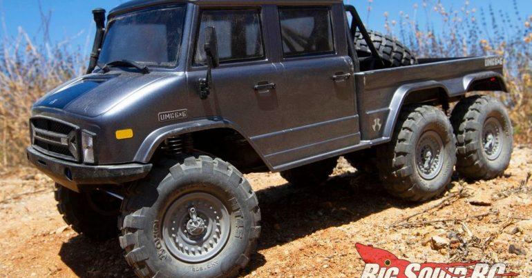 Axial Racing SCX10 II UMG10 6x6 RTR