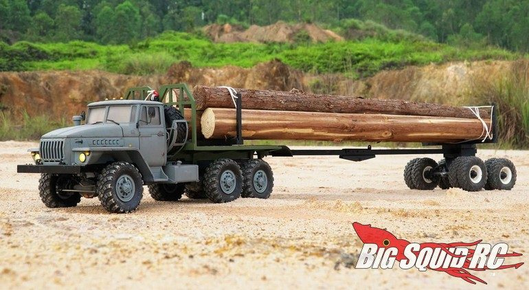 Cross RC Scale Timber Trailer