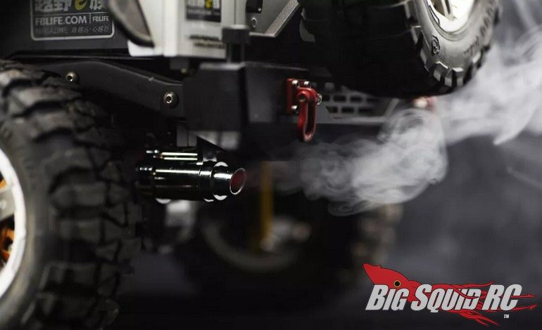 Killerbody RC Smoky Exhaust Pipe LED