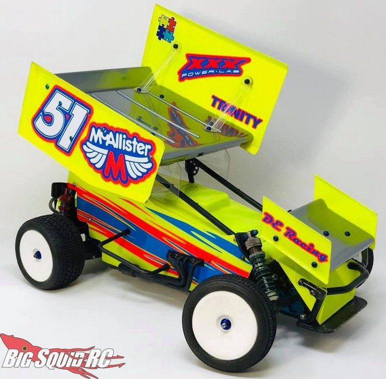 McAllister Racing Placerville Sprint Car Body RC