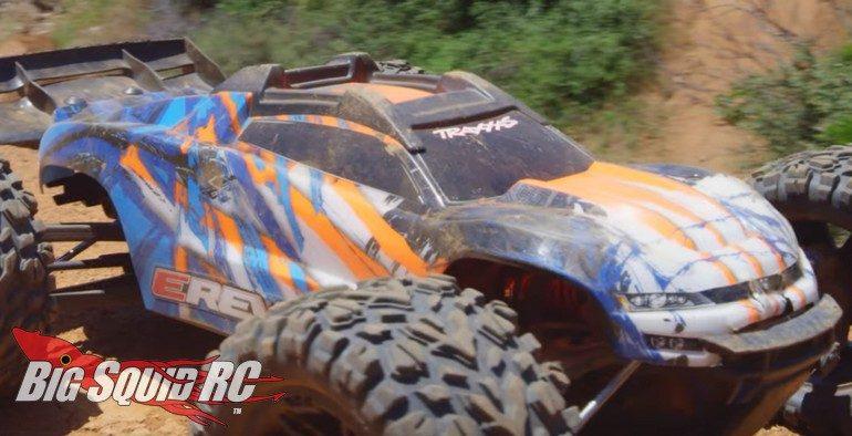 Traxxas E-Revo Dirt Jump Paradise Video