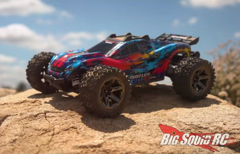 Traxxas Rustler 4x4 High-Speed Desert Descent Video