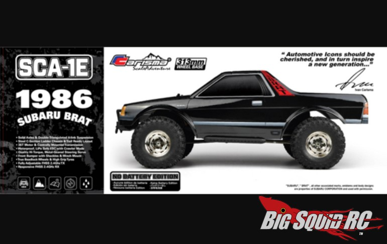 Carisma 1986 Subaru Brat RTR « Big Squid RC – RC Car and