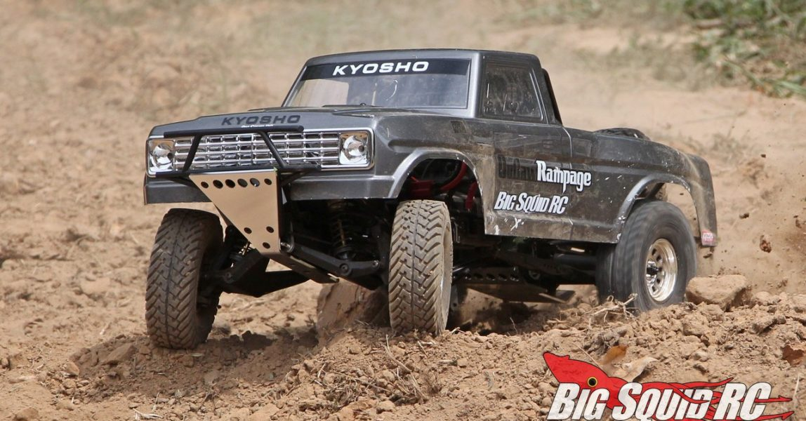 Kyosho Outlaw Rampage PRO Kit Review