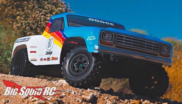 Pro-Line 1984 Dodge Ram 1500 Body Video